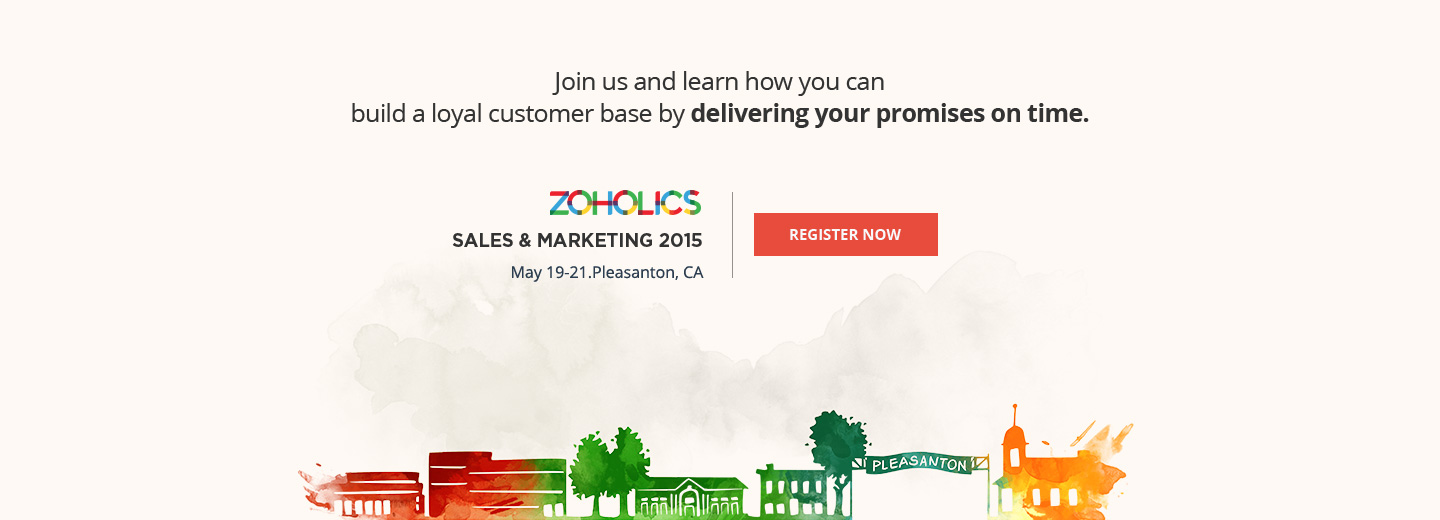 Zoholics Sales & Marketing 2015