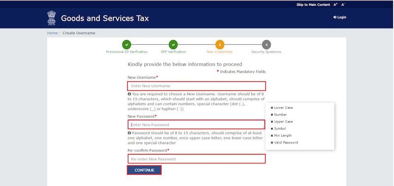 Gst for writing services