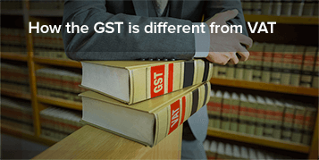 How the GST is difference from VAT