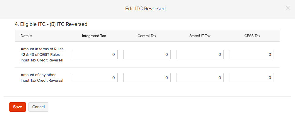 ITC-reversed