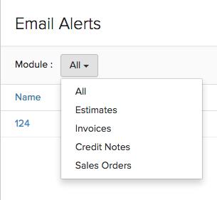 Filter Email Alert