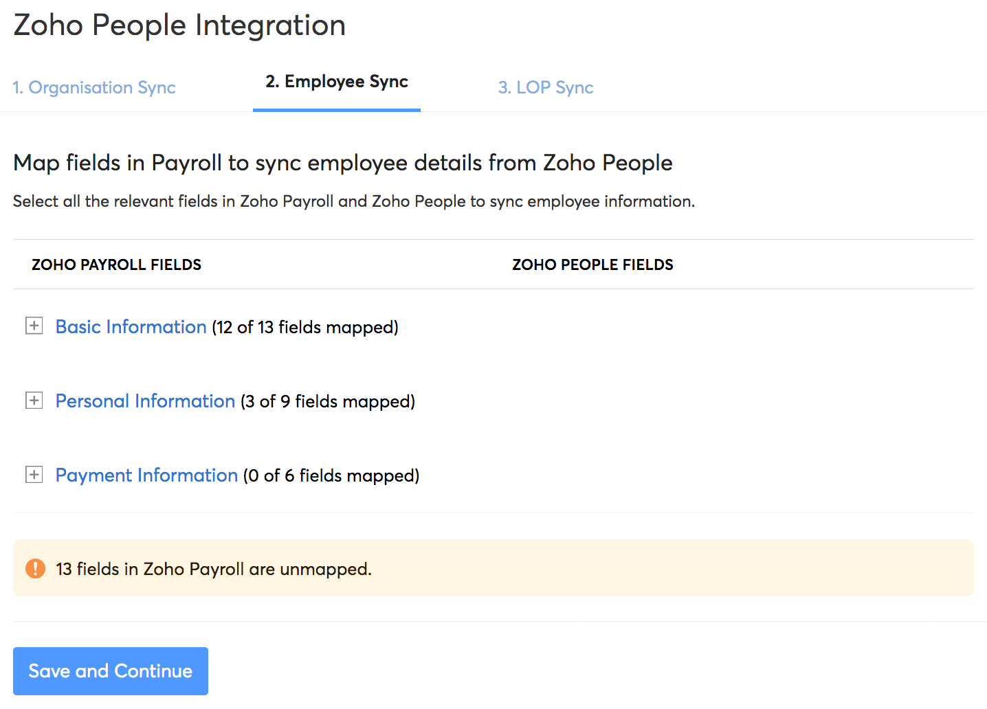 Employee Sync
