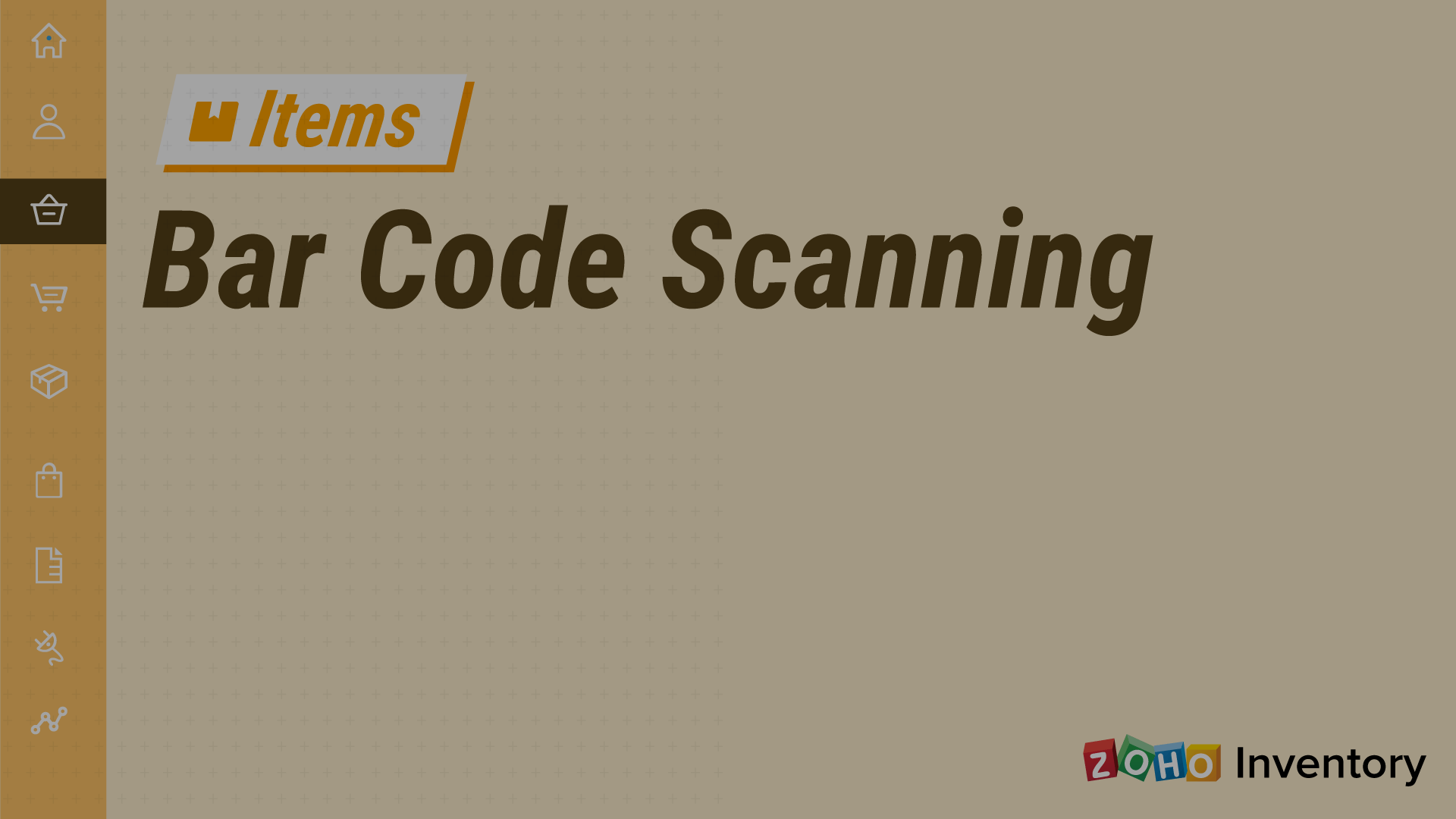 Barcode-scanning - Zoho Inventory