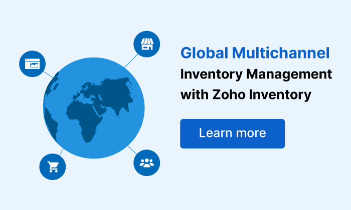 Global Multichannel | Online Inventory Management Software - Zoho Inventory