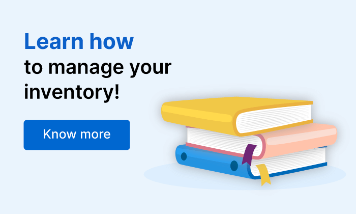 Learn how to manage inventory | Online Inventory Management Software - Zoho Inventory