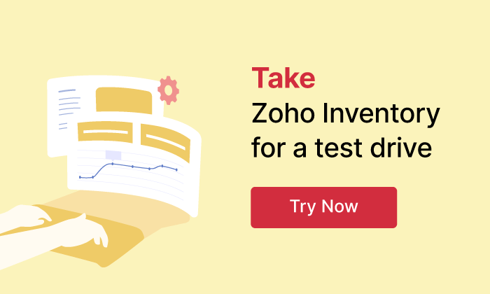 Take inventory for test drive | Online Inventory Management Software - Zoho Inventory