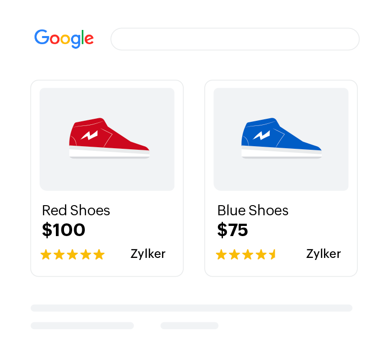 Google Shopping Component - Zoho Inventory