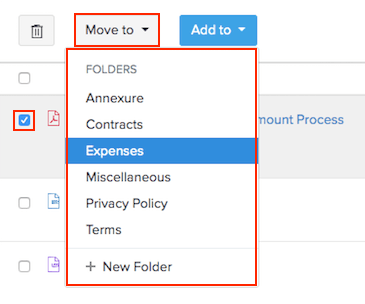 Move files to folders