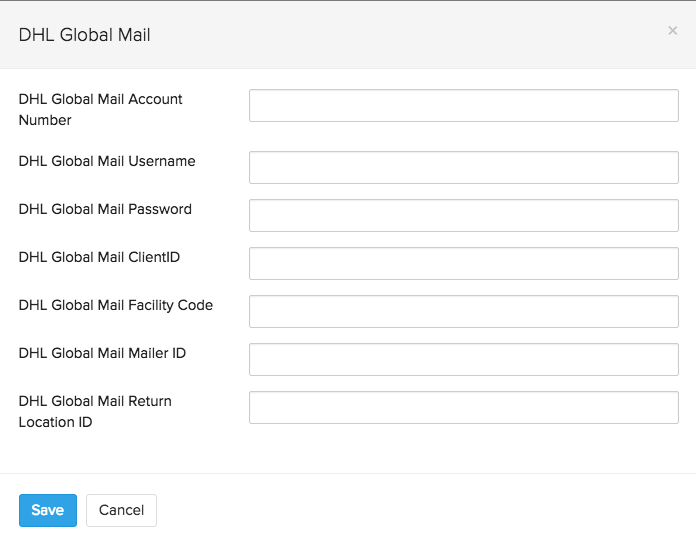 how to set up dhl account