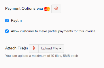Paytm - Payment Options
