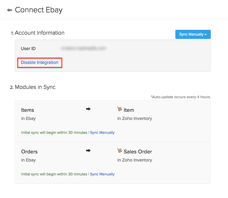 disable ebay
