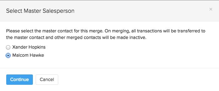 Merge sales persons