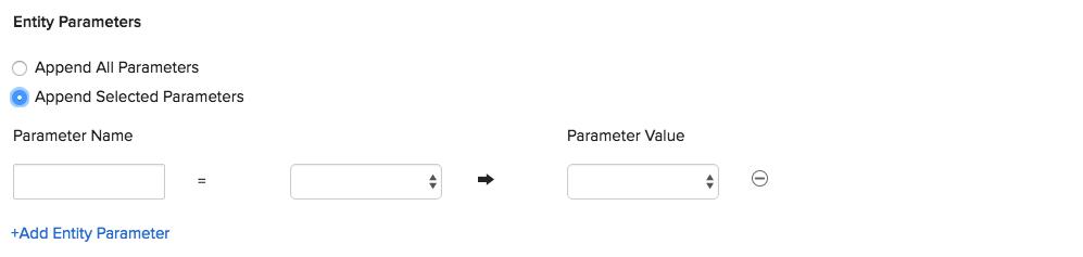 Entity Parameter