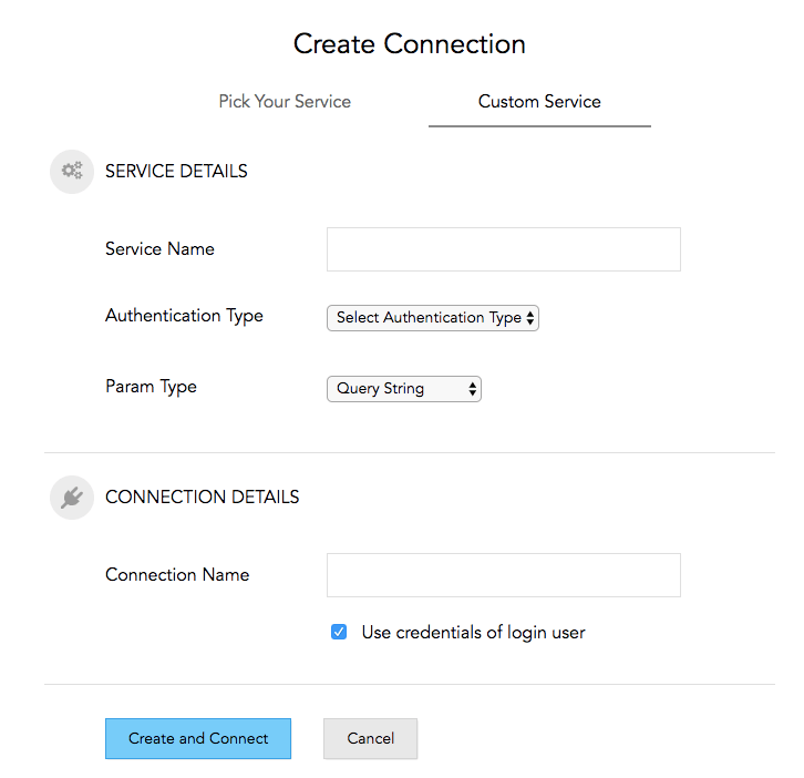 Connections - Custom