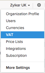 Accessing VAT