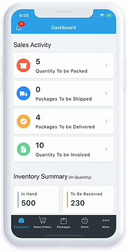Inventory Management | Online Inventory Software – Zoho