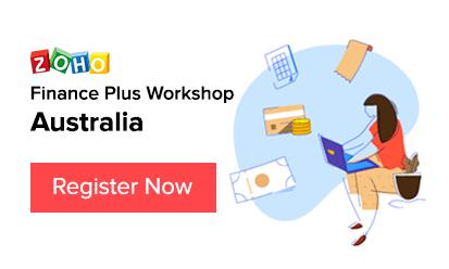 Zoho Finance Workshop - Australia