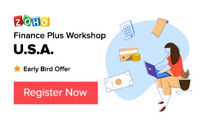 Zoho Finance Workshop - USA