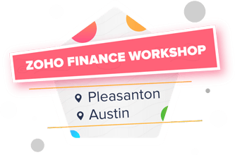 Zoho Finance Workshop
