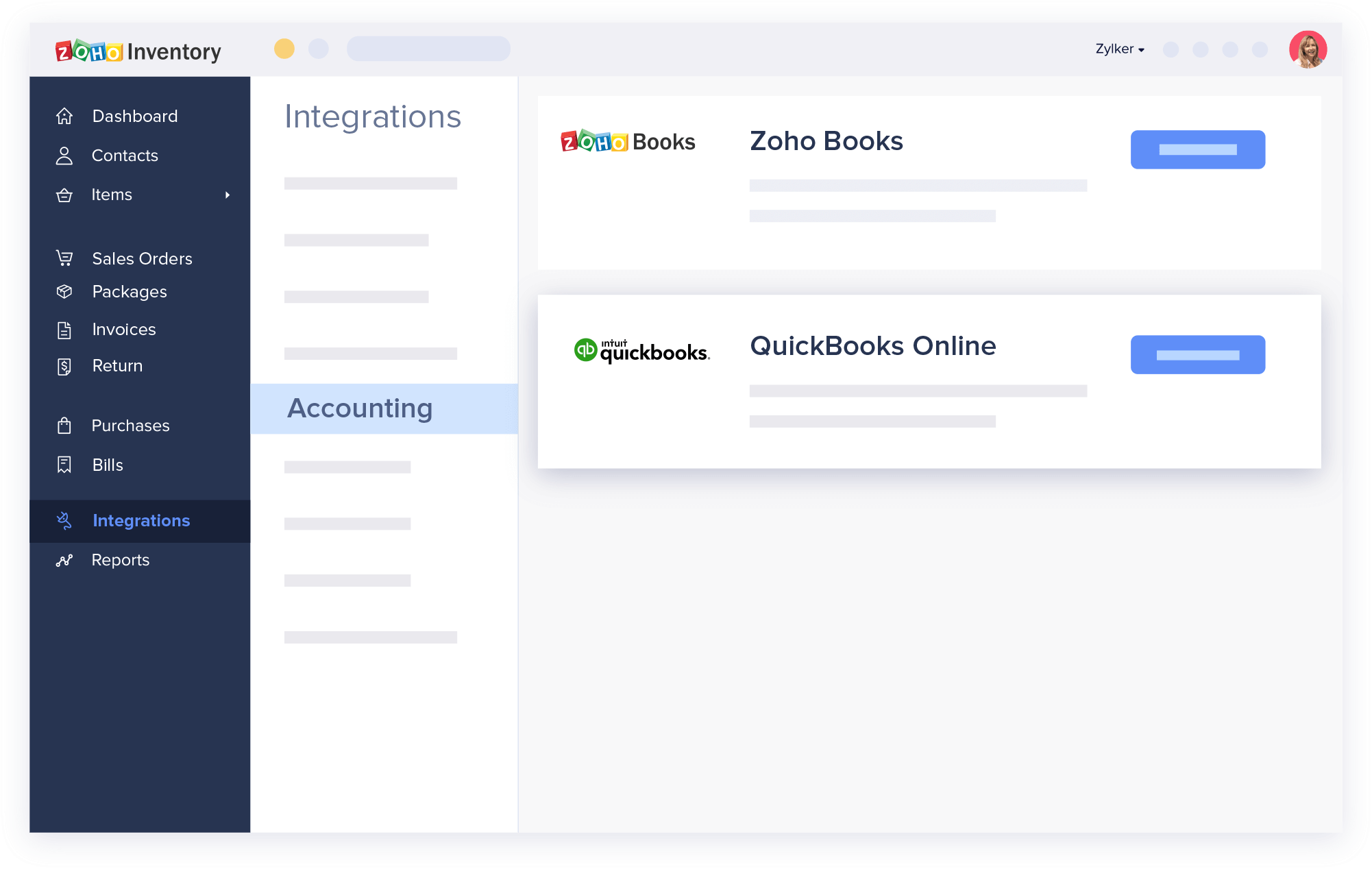 QuickBooks Inventory Management Software - Zoho Inventory Integration