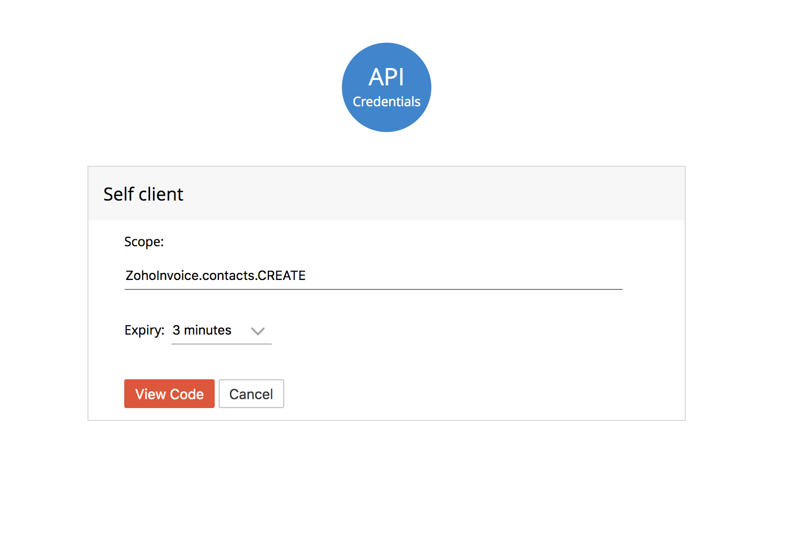 Zoho Invoice | API doc