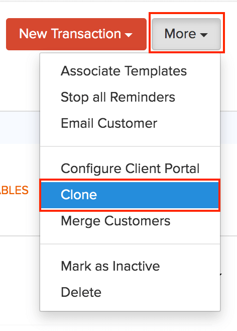 Clone Contact