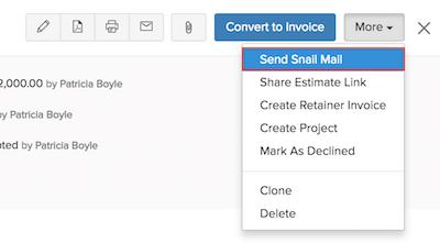 Send Snail Mail