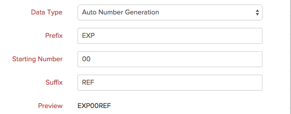 auto number