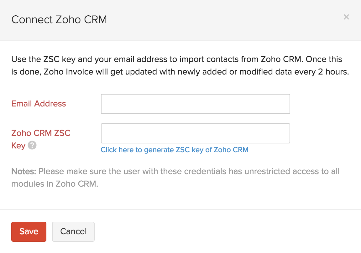Generating your ZSC key