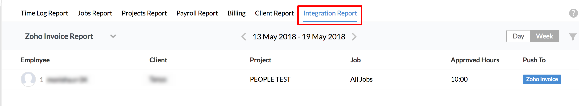 Integration Reports