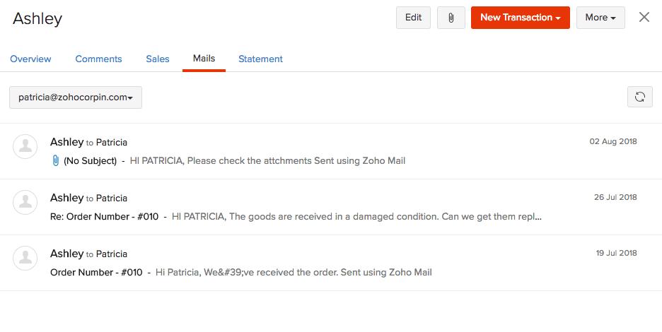 Mail Activity