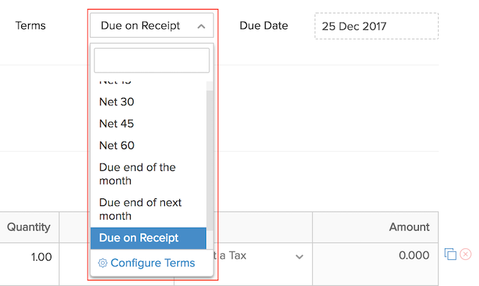 invoice creation import and customization help zoho invoice