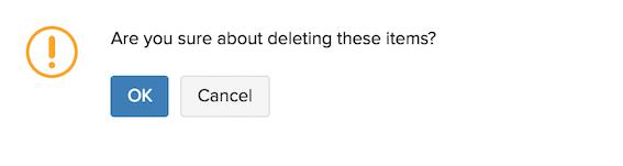 Confirm Delete