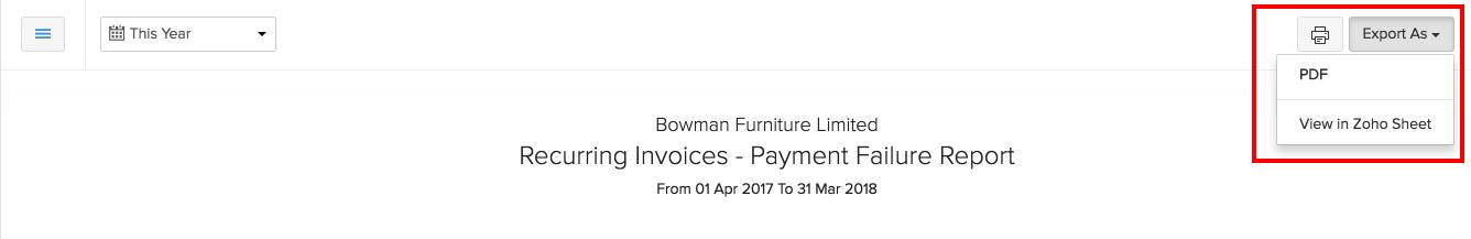 Payment Failure