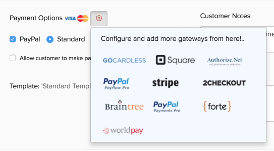 Recurring Invoice Payment Gateway