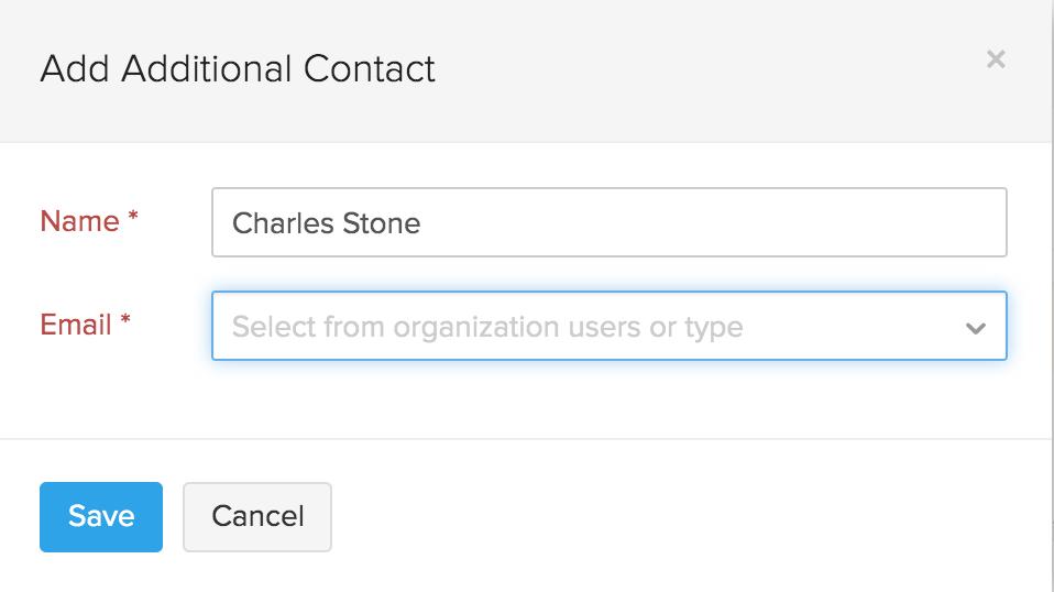 Add new sender