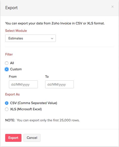 iExport Modules