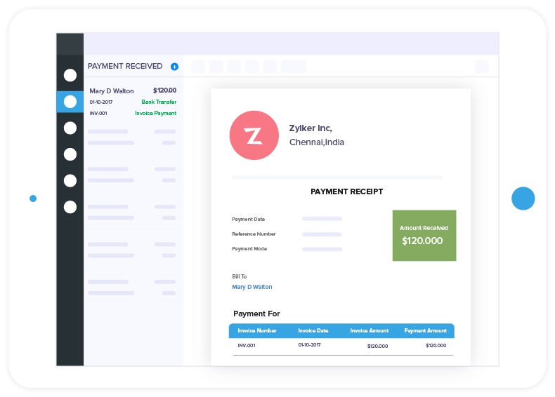 Online Invoice Payments - Zoho Invoice