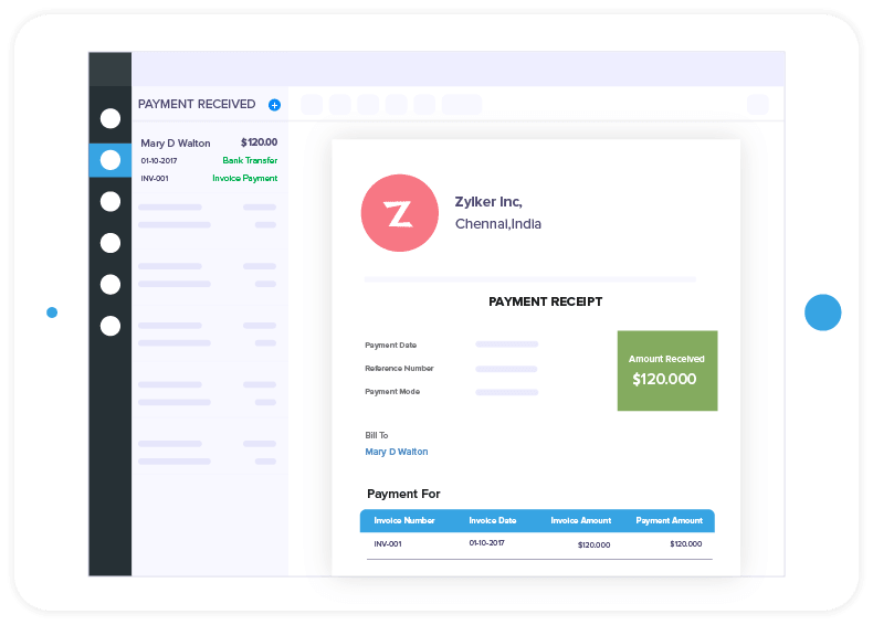 Invoice Software Features - Zoho Invoice