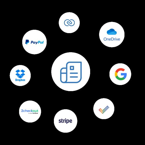 Online Invoice Integration - Zoho Invoice