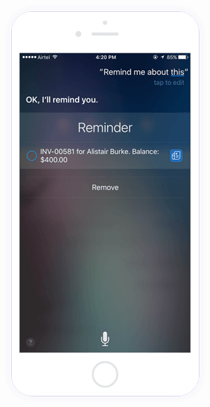 Let Siri be your personal assistant