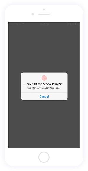 Secure your app using Touch ID