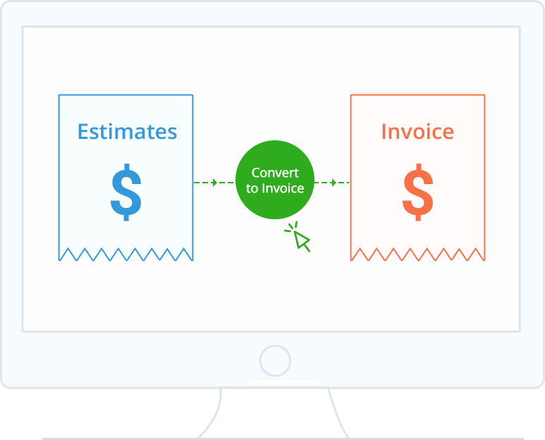 Create And Send Estimate Invoice Online Zoho Invoice - Estimates and invoices