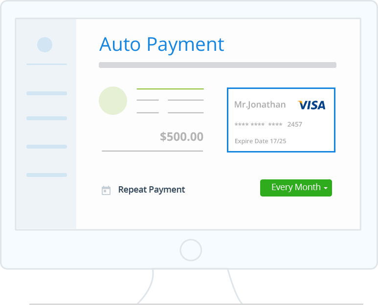 Receive Payments Automatically with Automatically with Autocharge - Zoho Invoice