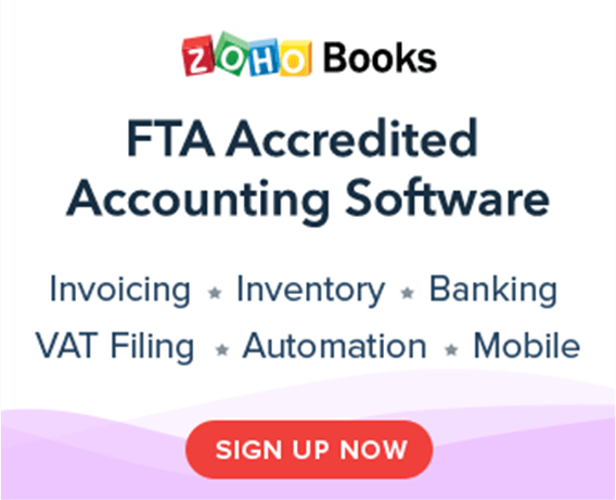 Accounting Software - Zoho Books