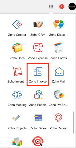 books google app faq zoho invoice