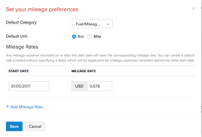 creating a mileage expense faq zoho invoice