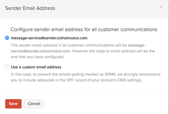 Preventing emails landing into spam