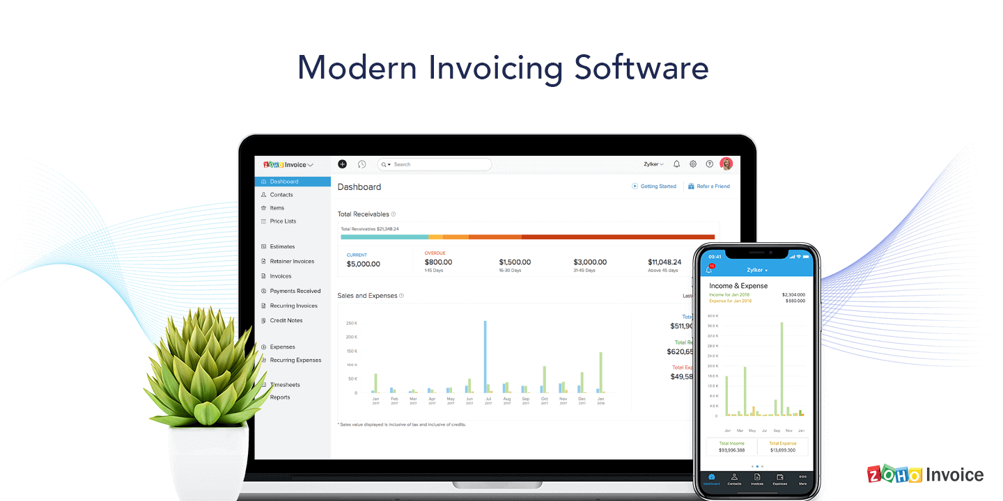 Modern Invoicing Software