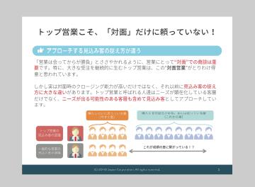 トップ営業 サンプル1